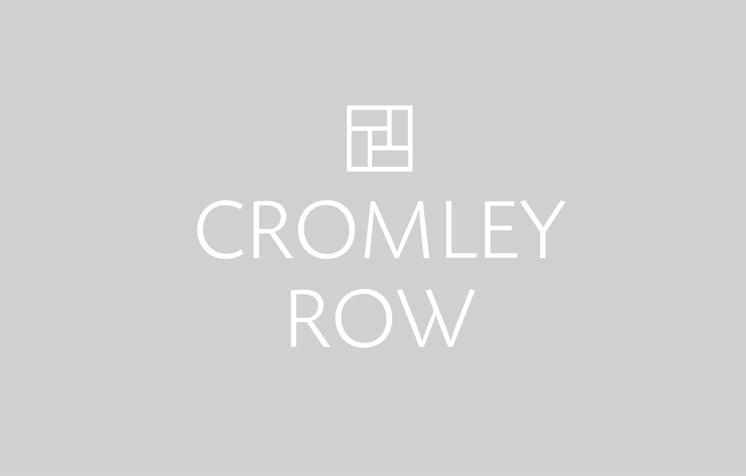 Logo for Cromley Row.