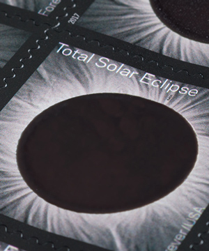 Thumbnail image of the Total Solar Eclipse stamp for the United States Postal Service