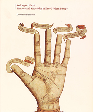 Thumbnail image of the cover of the Writing on Hands catalogue for Dickinson College