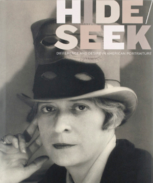 Thumbnail image of the cover from the Hide/Seek exhibition catalogue for the National Portrait Gallery