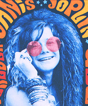 Thumbnail image of the Musical Icons: Janis Joplin stamp for the United States Postal Service