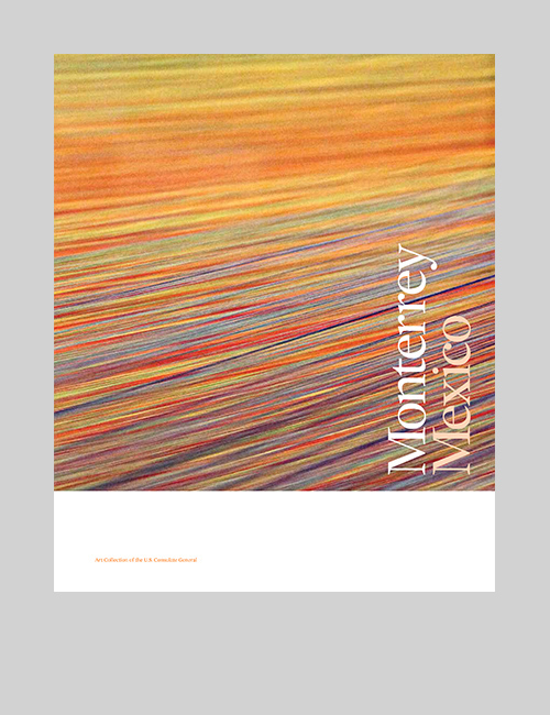 Thumbnail image of the cover of the Monterrey catalogue for Art in Embassies.