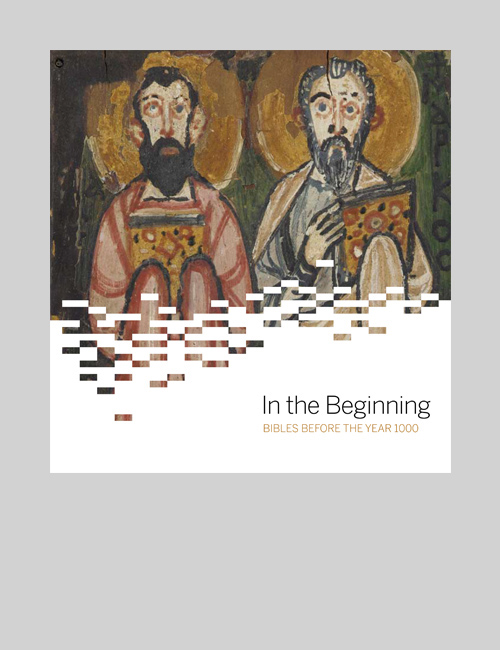 Thumbnail image of the cover of the In The Beginning catalogue for the Freer + Sackler Galleries.