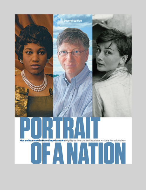 Thumbnail image of the Portrait of a Nation book for the National Portrait Gallery.