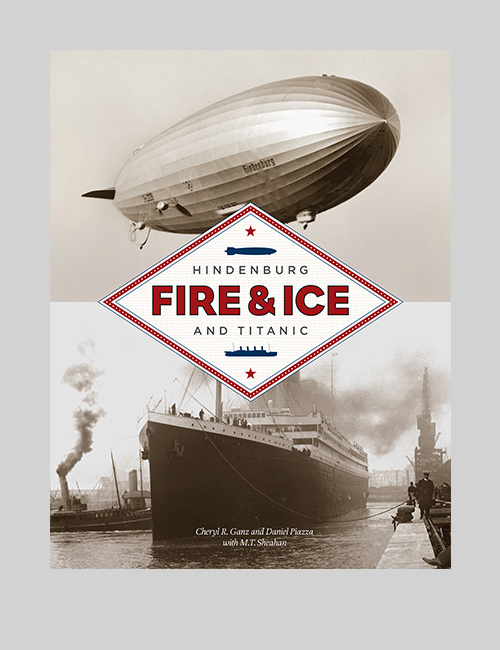 Thumbnail image of the Fire & Ice: The Hindenburg and the Titanic exhibition design for the National Postal Museum.