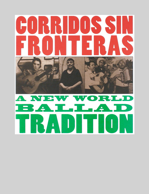 Thumbnail image of the Corridos Sin Fronteras print materials for the Smithsonian Institution Traveling Exhibition Service.